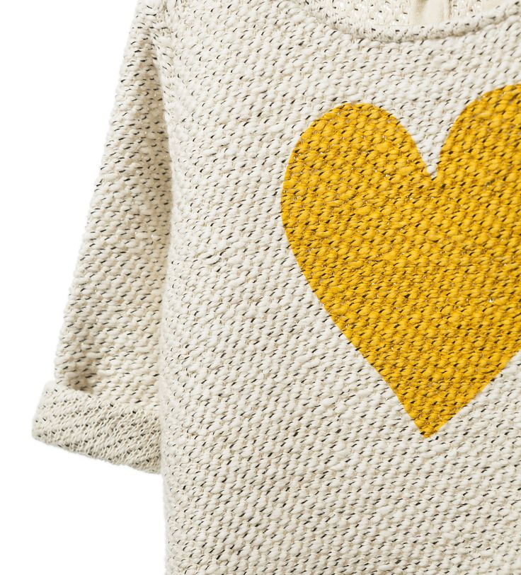 ZARA - KIDS - HEART SWEATER