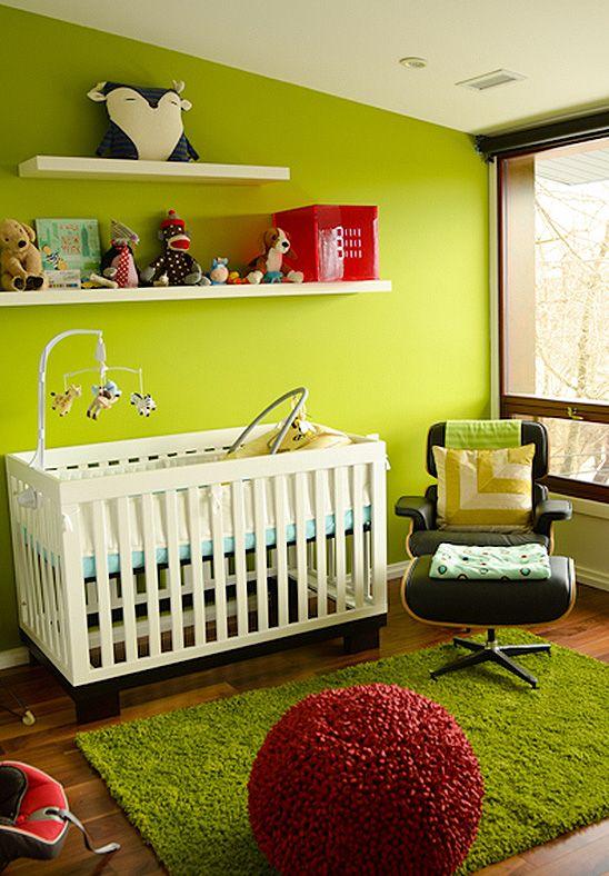 Vibrant, Modern Nursery