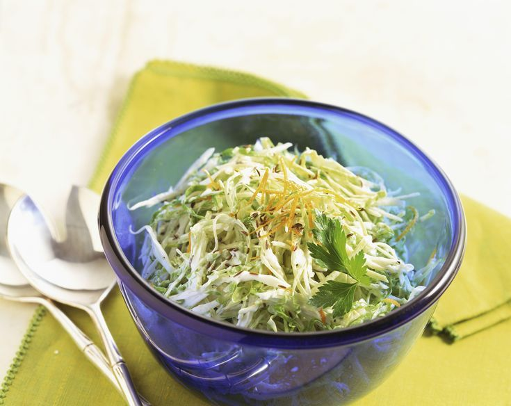 Asian-Inspired Napa Cabbage Coleslaw