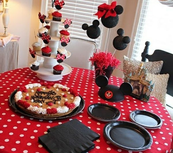 Mickey-Maus-Banner, Mickey Mouse Geburtstag Banner, Mickey Mouse Party  Dekorationen, Mickey Mouse Geburtstagsdekoration, Mickey Mouse Geburtstag