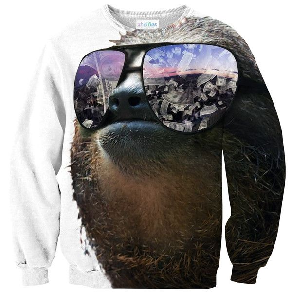 Money On My Mind Sloth Sweater – Shelfies