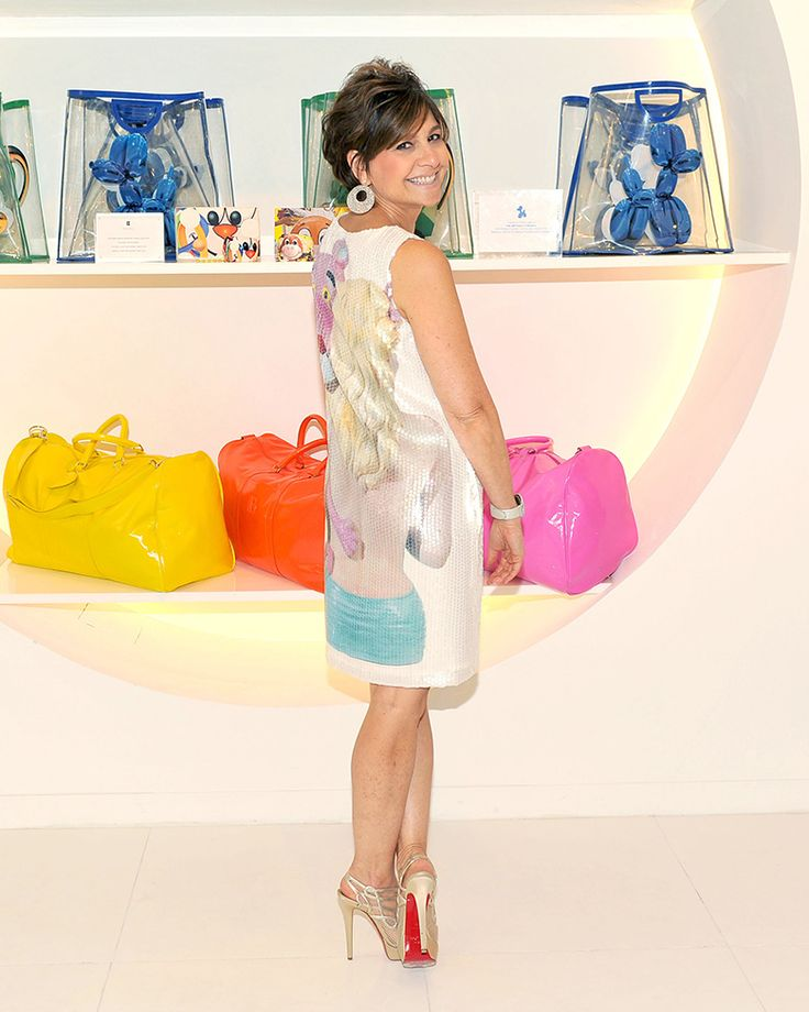 Лиза Перри в своем магазине на Мэдисон Авеню