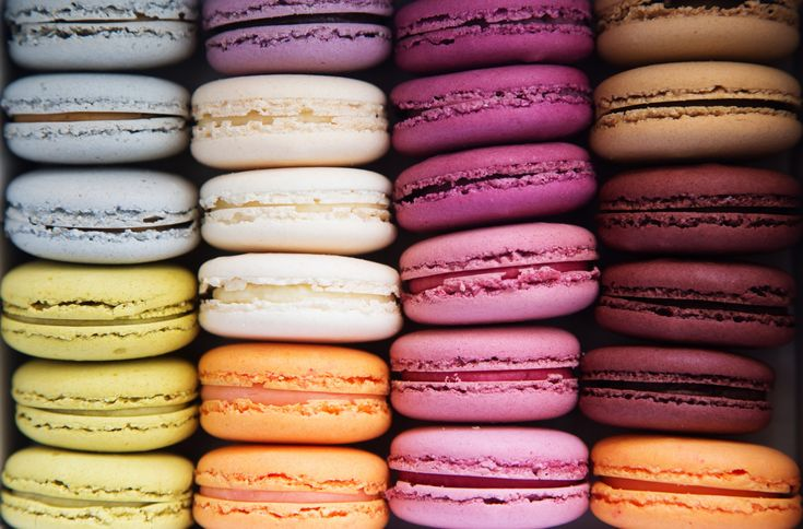 French Macarons! I bet some of the French bakeries in ATL will have 'em!