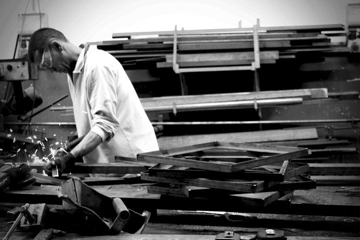 Making of DOROLIFESTYLE a r i a collection by DORODESIGN @ La Bottega del Fabbro