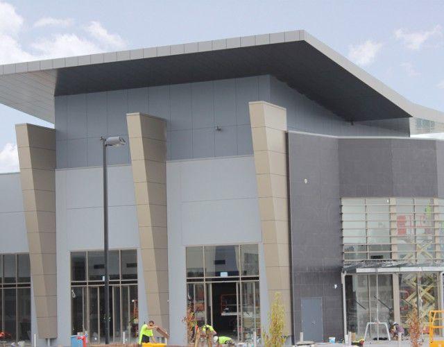 Pakenham Lifestyle Building - larson ® Grey metallic Pakenham, Victoria (AUSTRALIA)