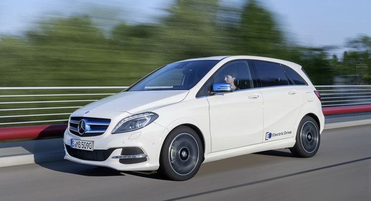 Mercedes Prices B-Class Electric Drive for UK Market