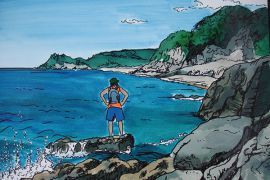 Coromandel Peninsula Art Print - The Little Gallery