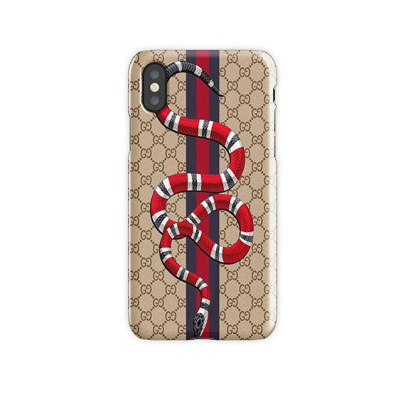 Gucci Phone Case, Gucci Snake iPhone Case, Gucci iPhone Case