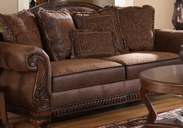 Ashley Furniture Showroom Leather Couches Living Room