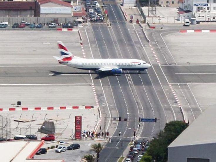 25 piores aeroportos do mundo - Gibraltar Airport.