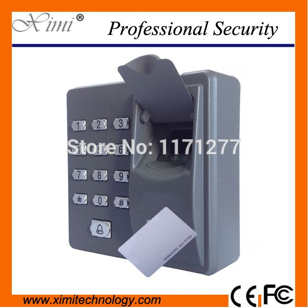 RFID reader finger scanner code system biometric recognition fingerprint access control system X6