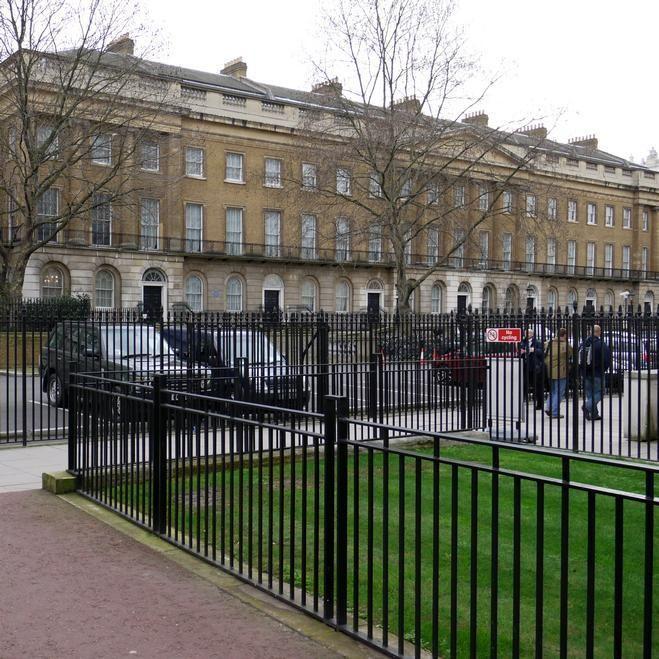 Former home of explorer, Sir Henry Morton Stanley, 2 Richmond Terrace, London SW1