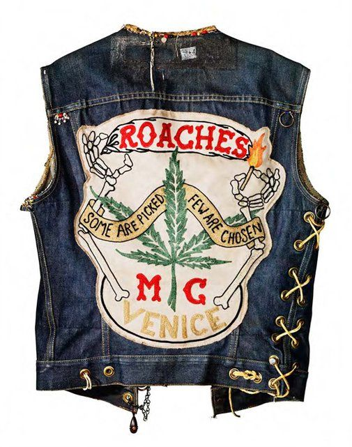 Inspiration from motorcycle club cuts, or vests, and their assorted, colorful club colors, or patches, that represent a unique form of American folk art embodying the freedom and nonconformity of bikers... www.torianchopperleathers.com - Collected by famed artist and rider Jeff Decker, Hell's Union: Motorcycle Club Cuts as American Folk Art is an exhibition at the University of California Riverside ARTSblock
