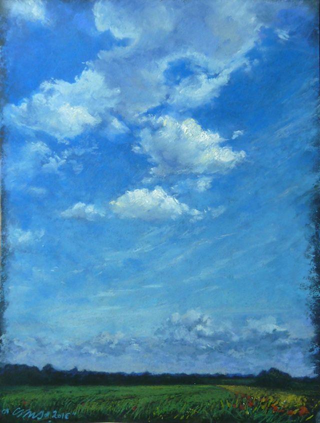 Flat 5. (Lamb clouds - soft pastell)