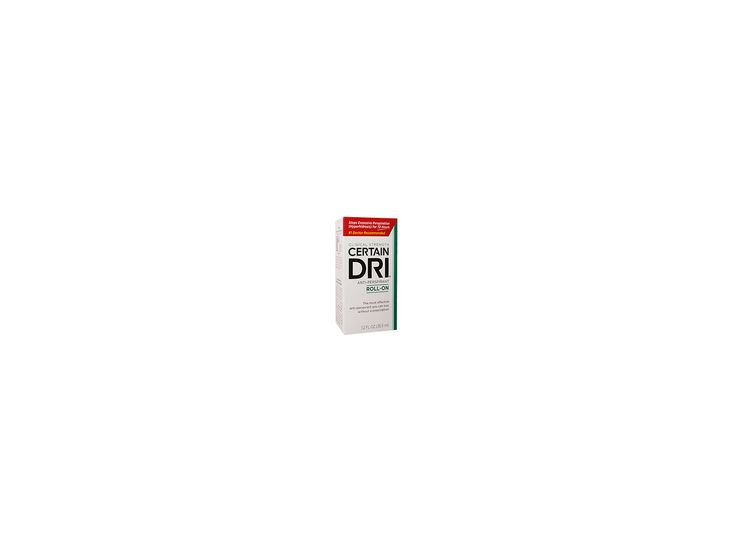 Certain Dri Antiperspirant Roll-On for Excessive Perspiration, 1.2 oz Ingredients and Reviews