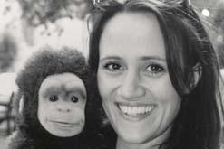 Nina Conti and Monkey