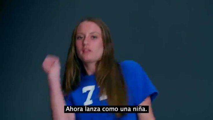 Always #LikeAGirl (subtitulado español) corre como una niña