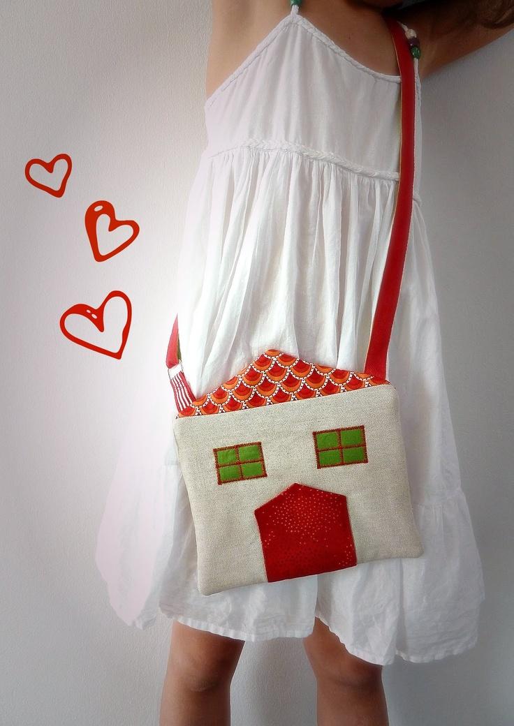 Bolso casita de marabara - Marabara's house bag