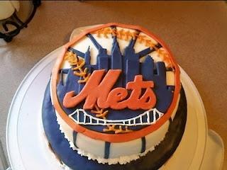Mets Cake Cake Birthday Cake Cupcakes