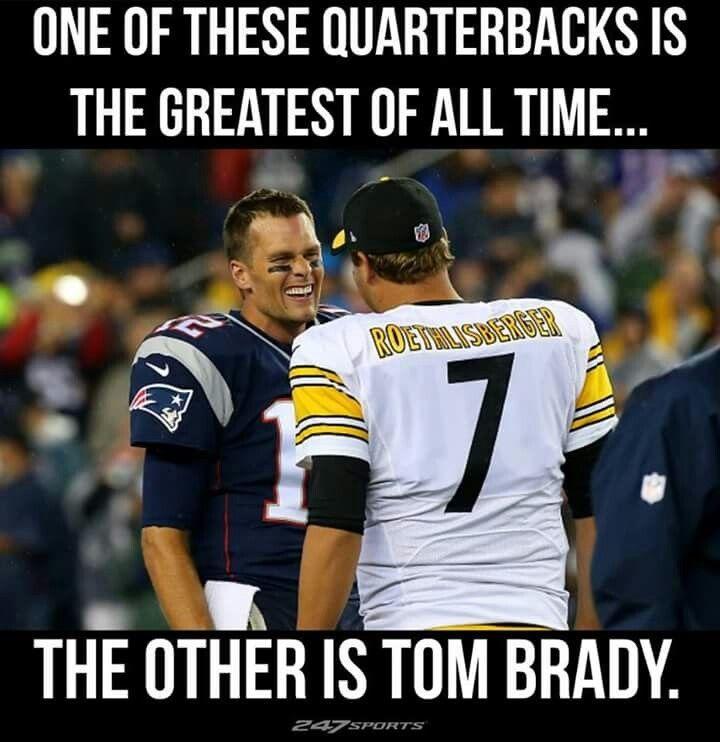 Benjamin Rocks Brady Cries Pittsburgh Steelers