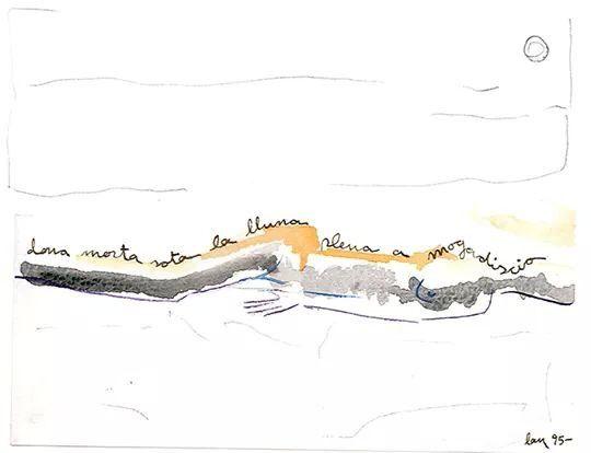 Dibuix i poema Drawing and  poem #Dibuix en #tinta i #llapis #Drawing in #ink and #pencil