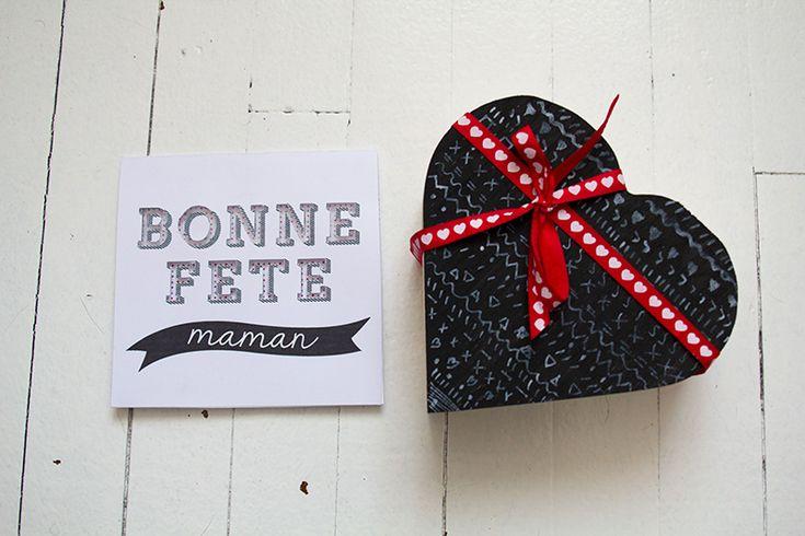 coffret et carte « Bonne fête » par Vert Cerise pour le concours Surprise pour la fête des mères de Rougier & Plé
