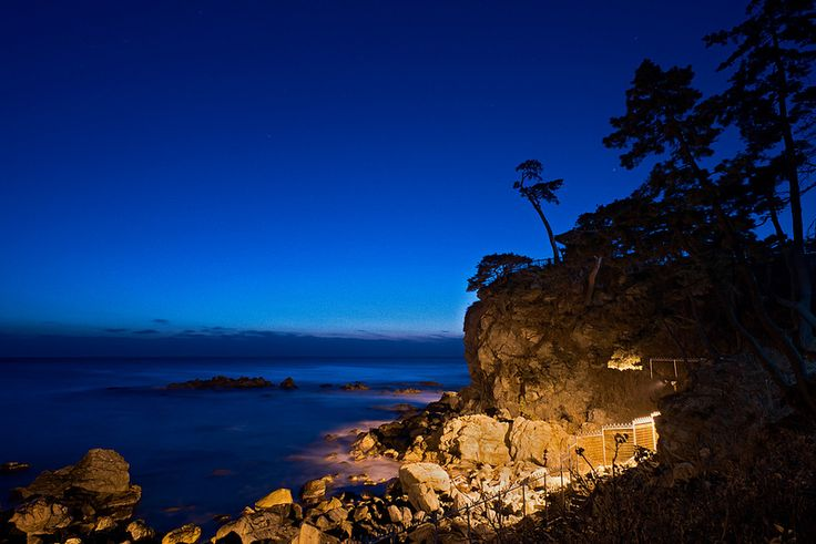 Blue Beginnings  Naksansa Temple hours before the first sunrise of 2015 in Yangyang, Gangwon-do, South Korea.   http://www.mattmacdonaldphoto.com