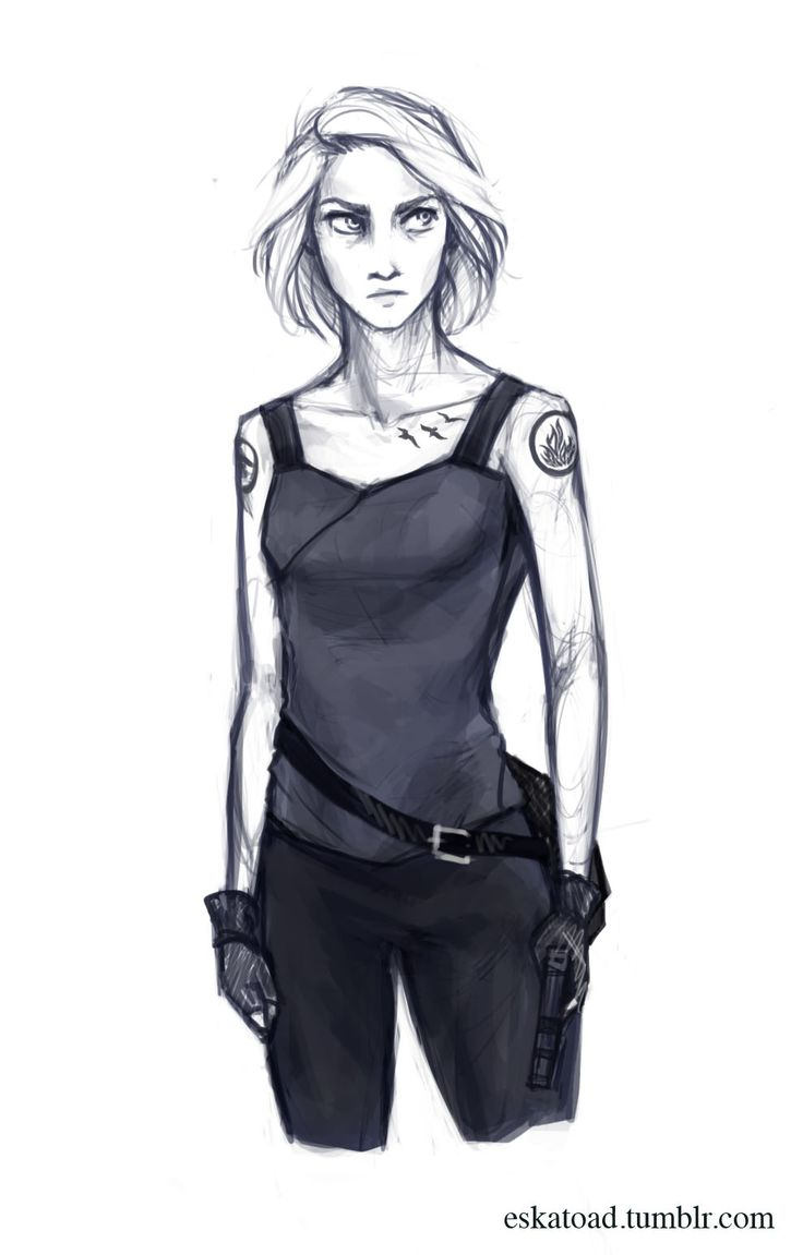 Beatrice Prior (insurgent) I Don't Think I Intended To Make Her Look