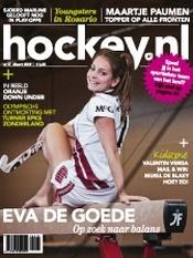 Eva de Goede als covergirl. Olympische ontmoeting met Epke Zonderland.