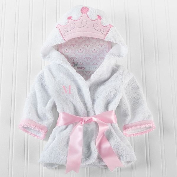 """""""Little Princess"""" Hooded Spa Robe (Personalization Available)"""