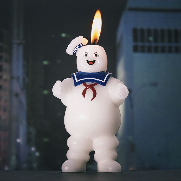 Stay Puft Marshmallow Man Scented Candle Gives The Gift Of Gozer -  #candle #ghostbusters