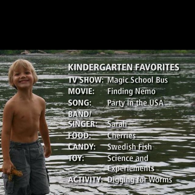 Kindergarten: Favorit