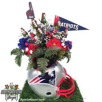 New England Patriots Snack Helmet Vase Planter