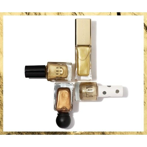 Raising the Bar New Ways to Wear the Season's Gold Accents VOGUE found on Polyvore  #kazar #inspiracja