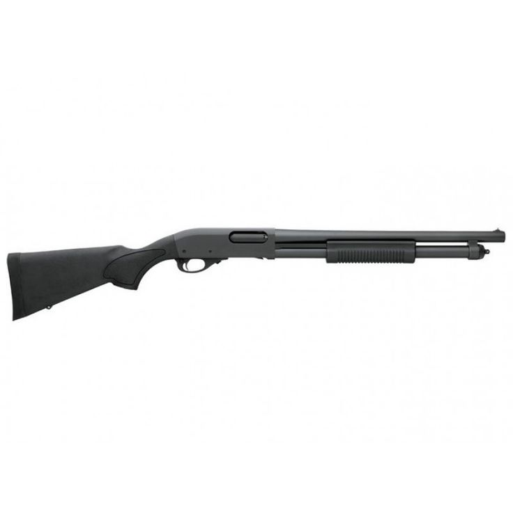 Download the Remington rebate form here. Remington 870 Express Tactical 12 Gauge Pump Shotgun 25077 is sleak in the nonreflective black finish coupled with the black synthetic stock.  This pump action shotgun is sure to be among your favorites!