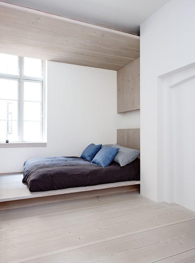 Dinesen Home bedroom