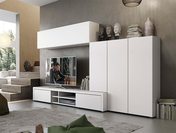 like the different depths and that the floating cabinet starts at the top of the…
