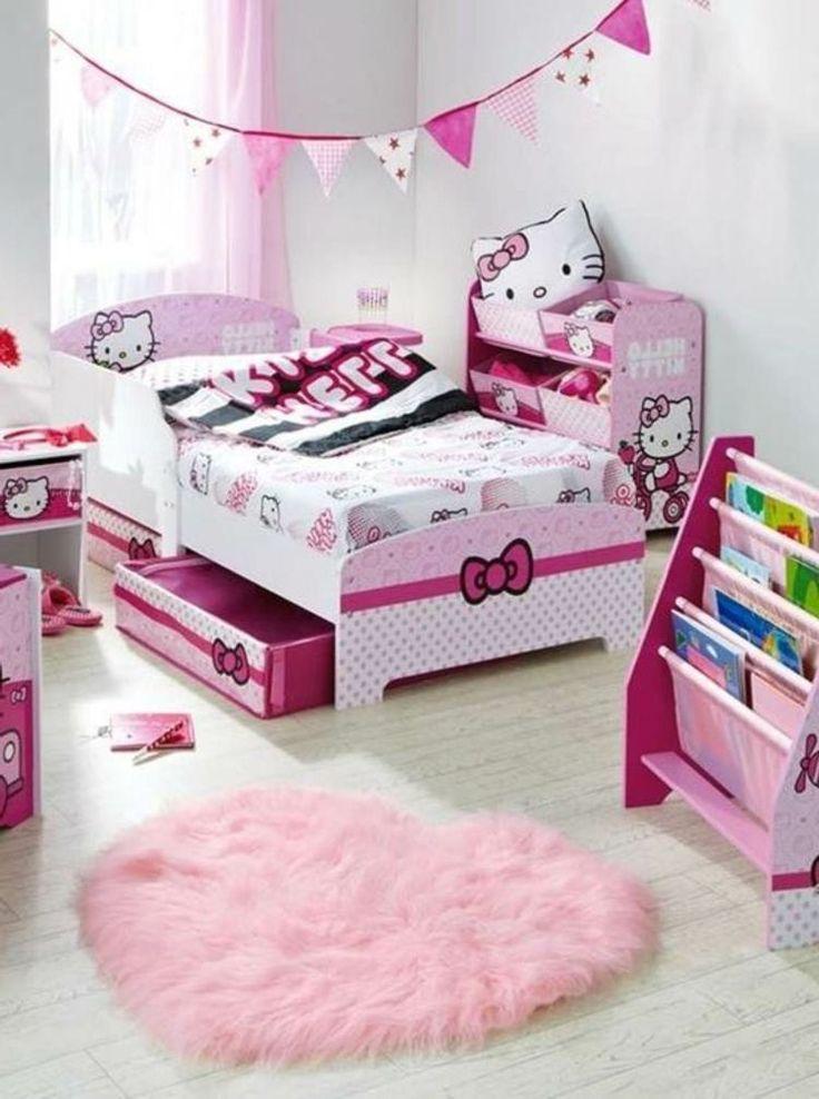 Idee Papier Peint Chambre Bebe Mixte : thème Chambre Dhello Kitty sur Pinterest  Hello Kitty, Hello Kitty