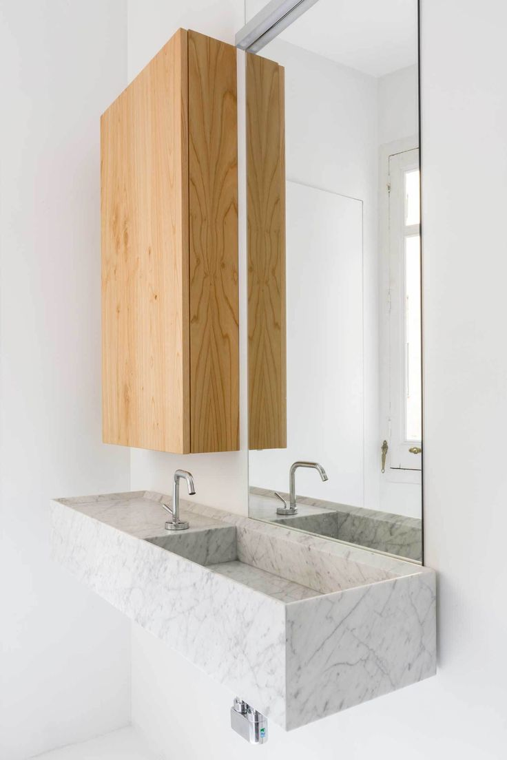 #marble Refurbished Heritage Apartment in Madrid Photographed by Juan Baraja | Yellowtrace