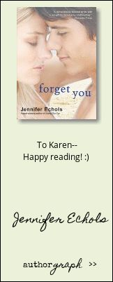 """Authorgraph from Jennifer Echols for """"Forget You"""""""