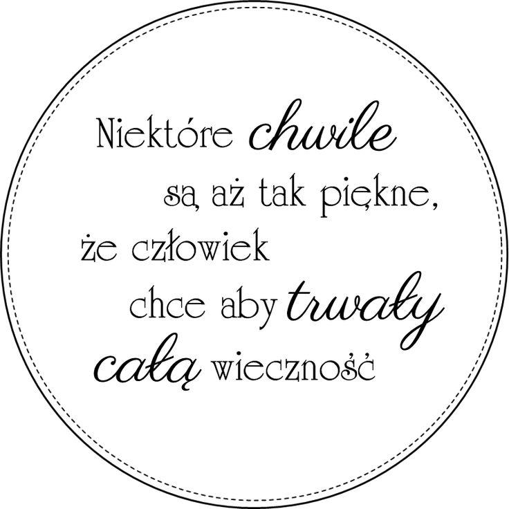 Digi stemple by Novinka: Chwile- sentencja