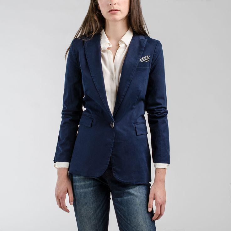 Blazer Azul Marino - Saville Row AW2016