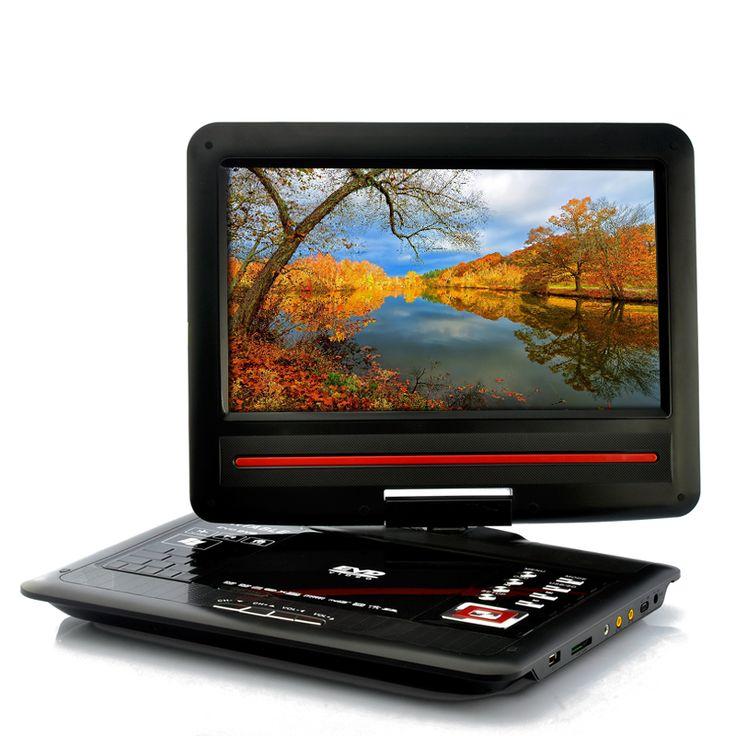 Portable 12.1 Inch Screen DVD Player - Copy Function, 270 Degree Swivel Screen;  http://www.chinavasion.com/utib-HomeAudioVideo/