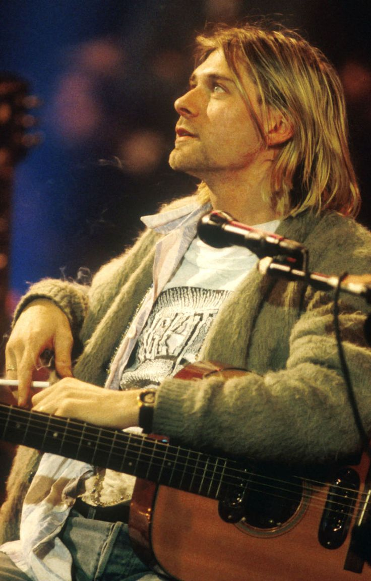 Kurt Cobain #Nirvana MTV Unplugged in New York (1993):