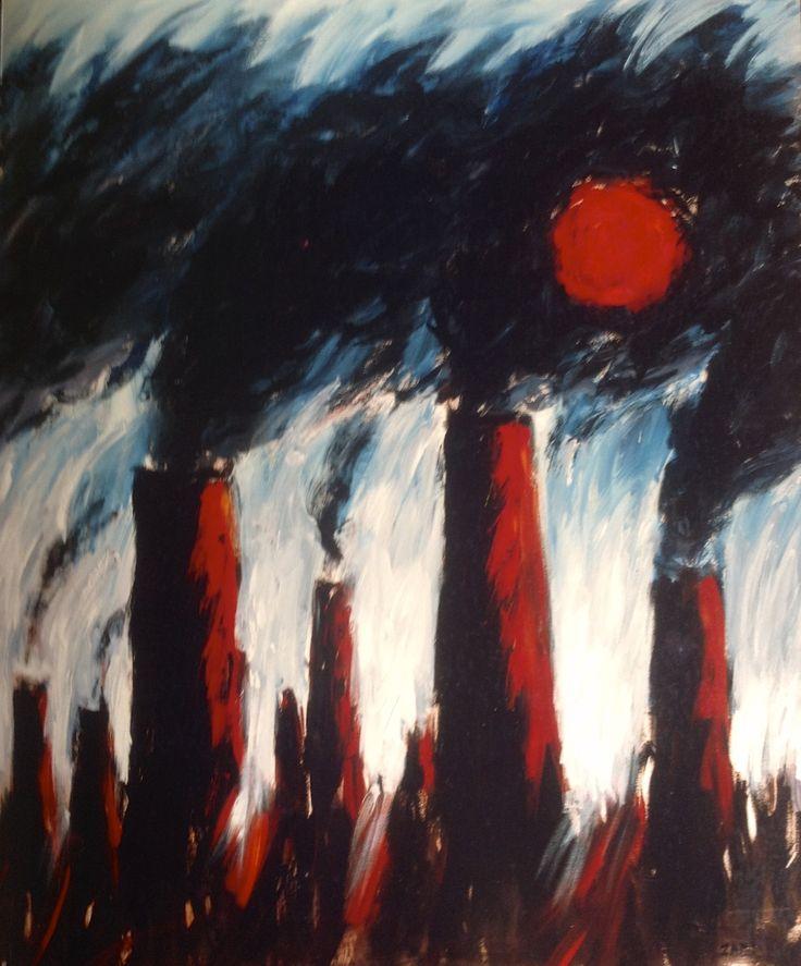 Reynaldo Zapp, sunset, 1993