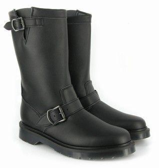 Airseal Engineer Boot Non SteelToe Black - Airseal Footwear -Vegetarian Shoes