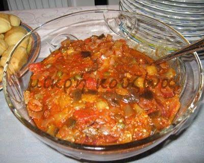 μικρή κουζίνα: Καπονάτα-Ιταλική εβδομάδα