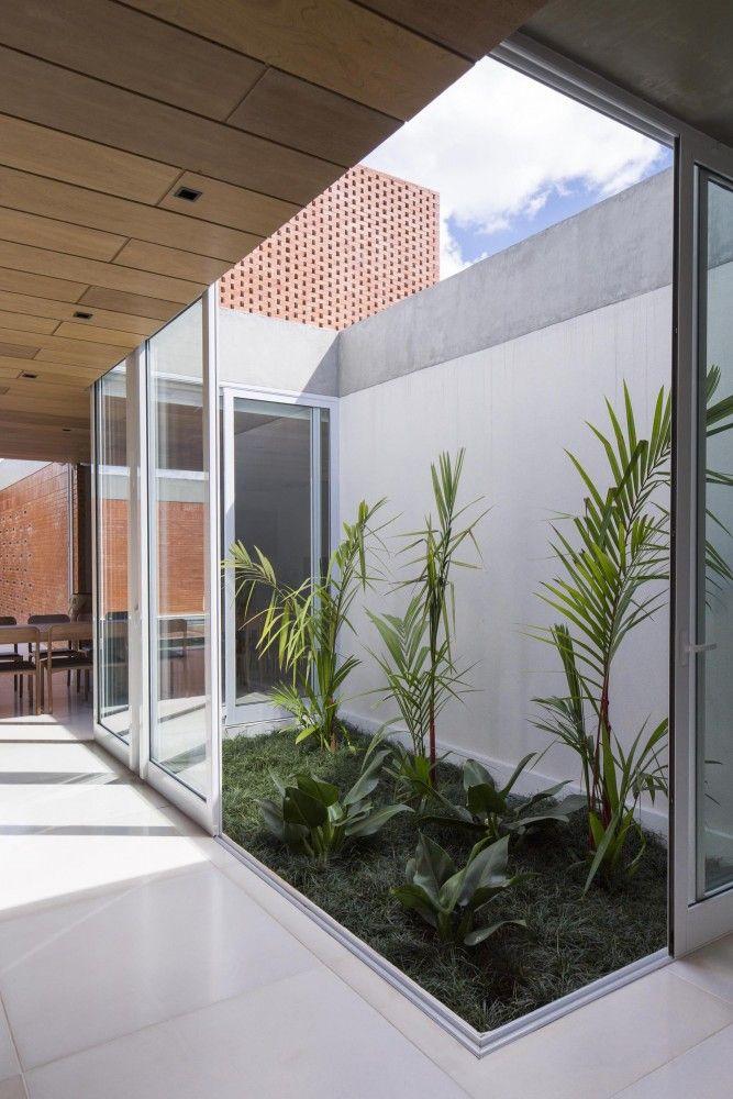 Mezcla materiales  Malva House / Bloco Arquitetos