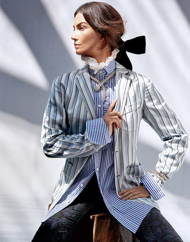 Лили Олдридж в Harper's Bazaar Singapore (Интернет-журнал ETODAY)