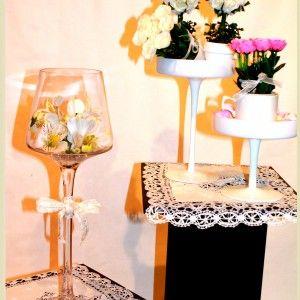 cupulas y flores
